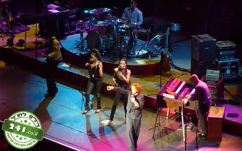 סימפלי רד - הופעה של הלהקה הבריטית