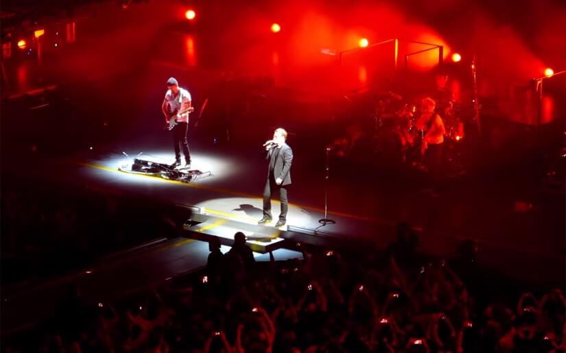 הופעה של U2, שיקגו, 2015