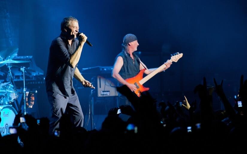 Deep Purple הופעה חיה